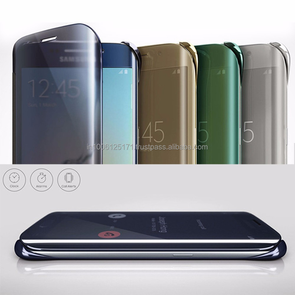 new style 9c213 4c059 Flip Cover For Samsung Galaxy S6 Edge - With Id Chip - Buy Original Flip  Cover For Samsung Galaxy S6 Edge Product on Alibaba.com
