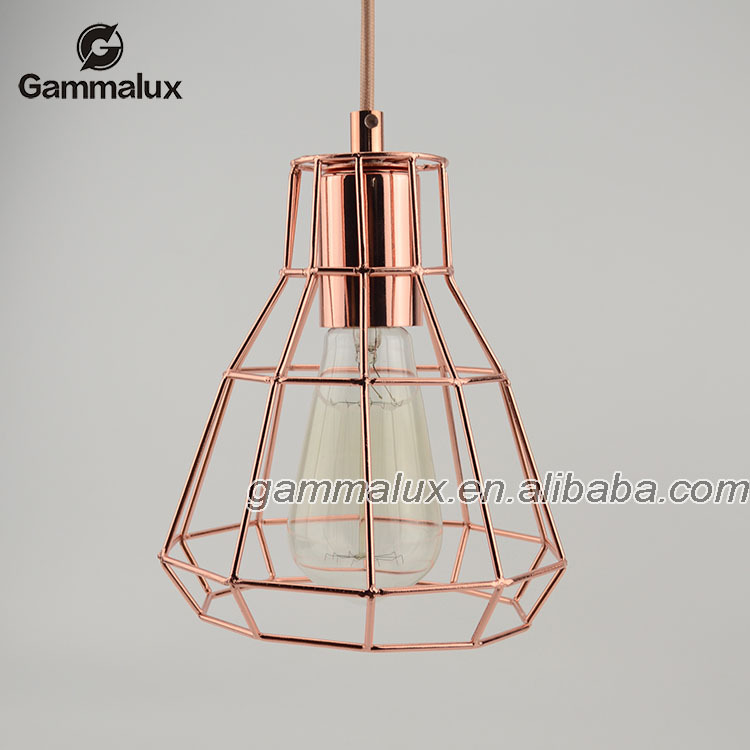 Decorative Colorful Cage Pendant Light, Iron Bird Cage Lamp,Lamp Cage