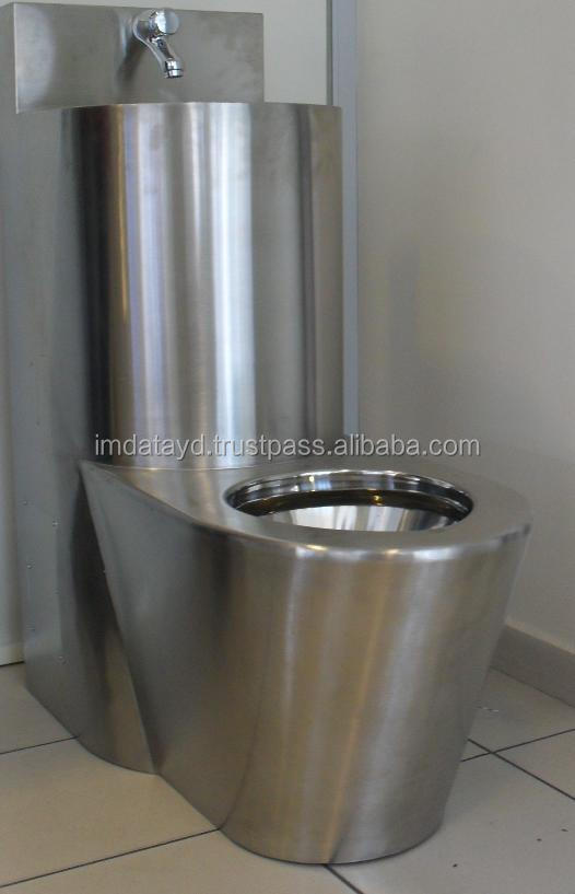Stainless Steel Combination Toilet Buy Stainless Steel