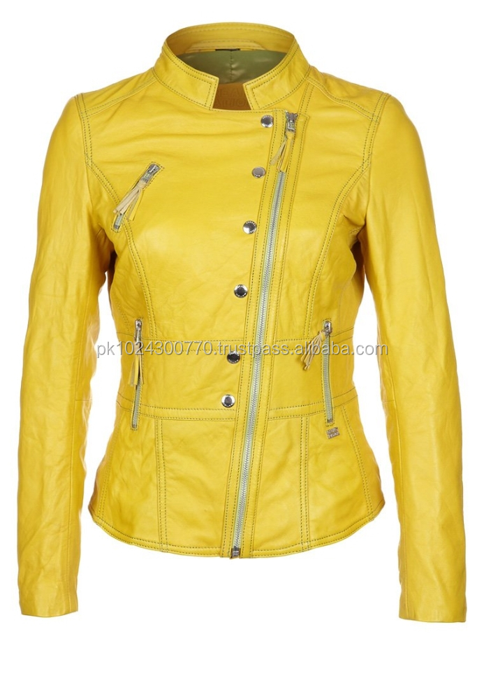 Wear Leather Jacket For Women / Looking For Leather Jackets For ...