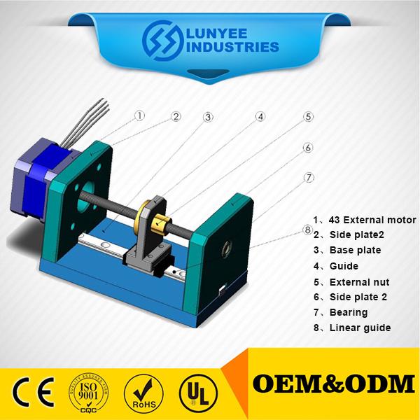 Ball screw non captive linear stepper motor buy non for Stepper motor buy online