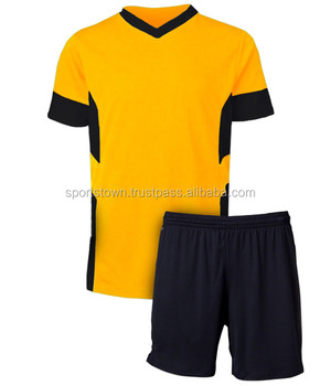 eaf05f7aa Wholesale fashion design custom youth soccer jersey uniform in high quality