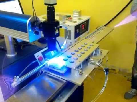 200W YAG Automatic laser welding machine--- phone batteries welding
