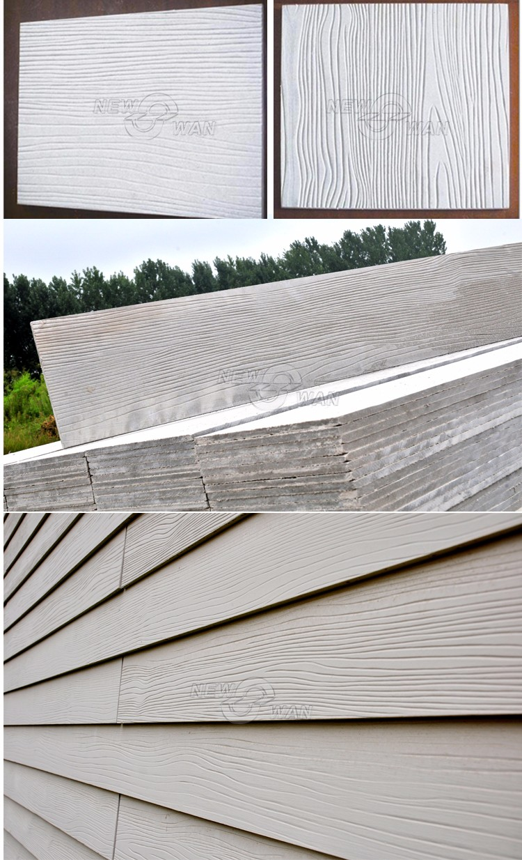 Textured Cement Panels : Textured wall panel fiber cement board reinforced