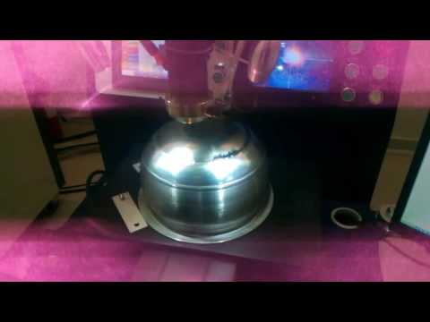 400W YAG Automatic laser welding machine---cookware welding video