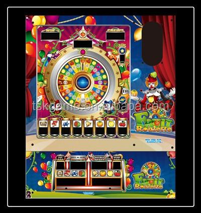 Fruit roulette slot machine
