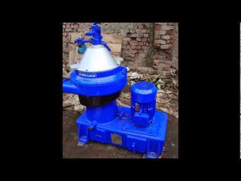 Reconditioned Alfa Laval oil separator, industrial centrifuge, alfa laval lube oil purifier