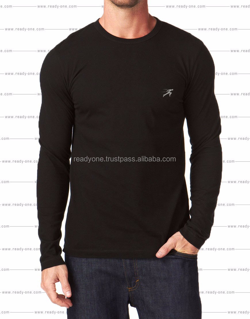 mens new design polo shirt with long sleeve knit fabric clothing factory mens slim fit t shirt with printed