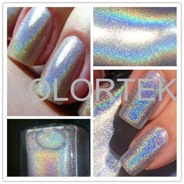 How Does Powder Nail Polish Work: Unicorn Holographic Powder For Nail Polish Makeup Beauty