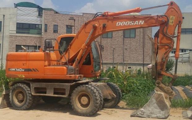 South Korea Used Wheel Excavator, South Korea Used Wheel Excavator
