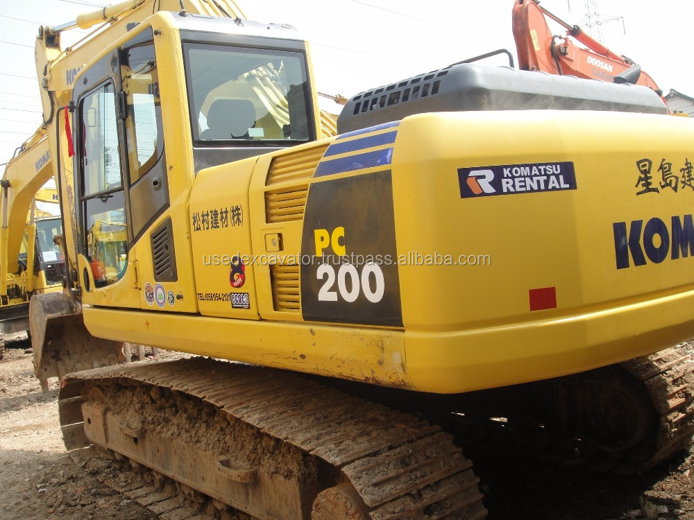Komatsu excavator for sale malaysia pc 200-8, also with spare parts excavator pc200-8