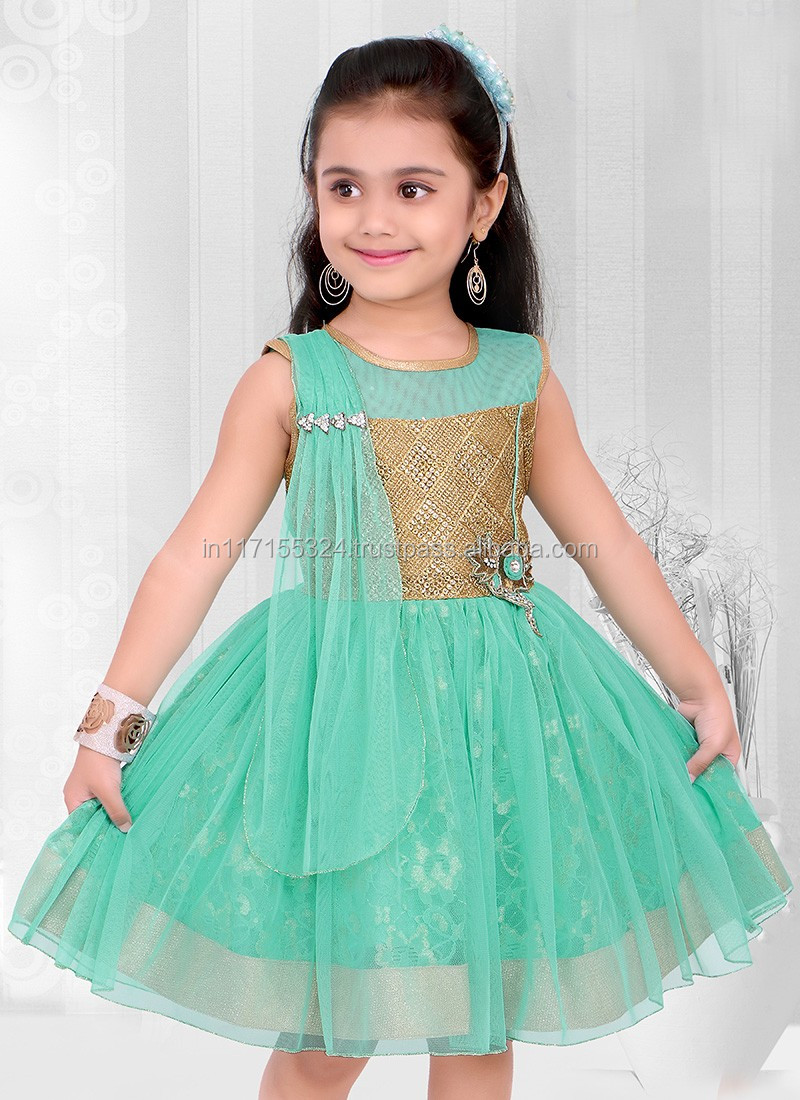 2015 Latest Designs Cute Frock Child Clothes Fancy Party Girl ...