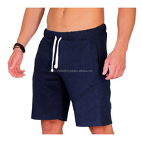 2017 high quality comfortable simple design shorts /blank fleece mens gym short