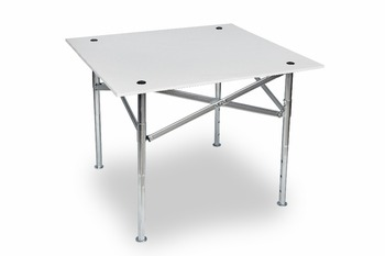 Outdoor 90x80cm Steel Frame Wood Top Folding Table Buy Folding High Top Table Product On Alibaba Com