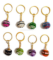 Buy Online Indian Lac & Mirror Work Key Chains
