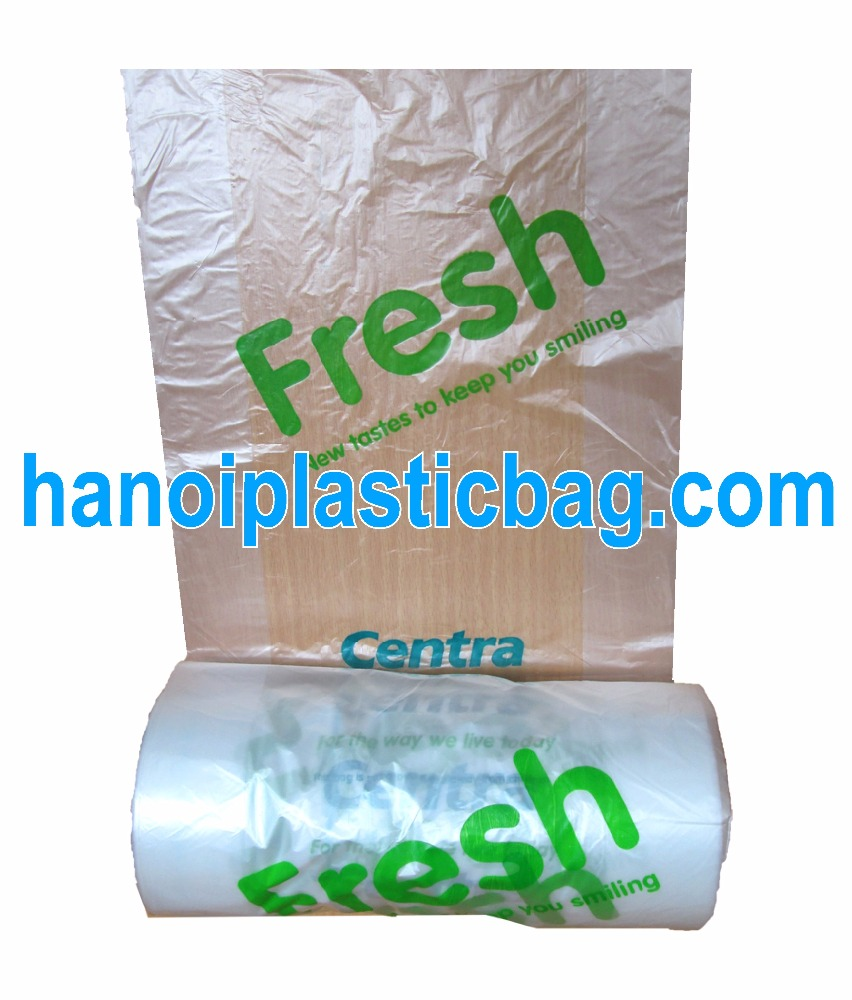 Wholesale HOT Sale Fresh food bags, Fruit Bag on roll