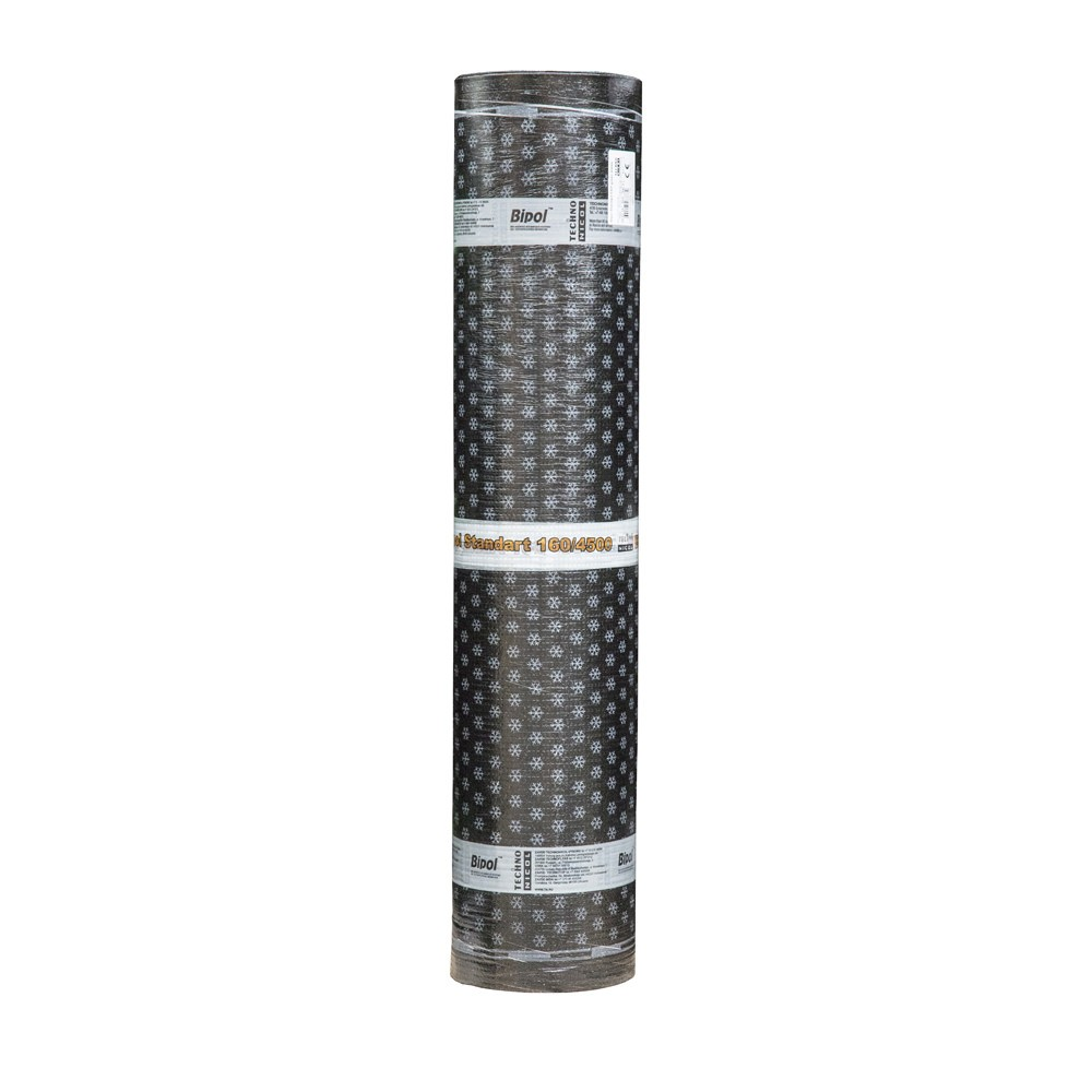 Torch On Roofing Felt 4.5 Kg SBS (Grey Mineral) 8x1m POLYESTER