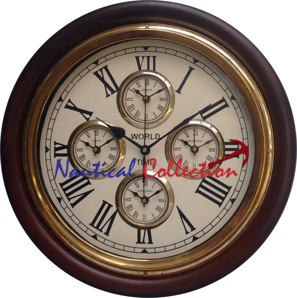 World Time Zone Wall Clock, World Time Zone Wall Clock Suppliers And  Manufacturers At Alibaba.com