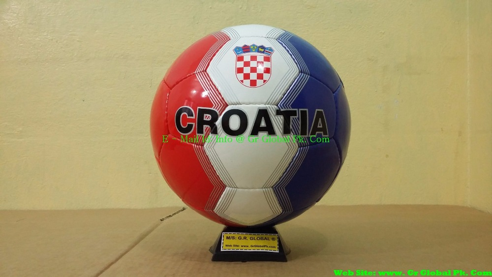 2016 Croatia - Croatian Flag Promotional Soccer Balls, Cheap Soccer Balls, Good Quality Soccer Balls, Futsal, Low Bounce Balls