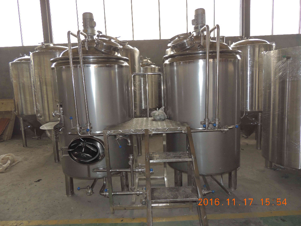 1000L Large Beer Brewery Equipment Micro Beer Brewing Production Line