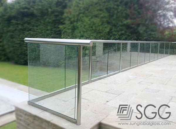 12mm 15mm 19mm Clear Glass Panel Fence Panels Buy Clear