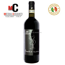 Premium Quality ITALIAN WINE BRUNELLO DI MONTALCINO D.O.C.G. Controlled and Guaranteed Designation of Origin RED WINE 2012