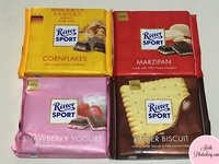 RITTER SPORT 100g Whole Almonds Chocolate New Arrivals