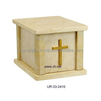 Verona Marble Square Shape Cremation Cheap Urns
