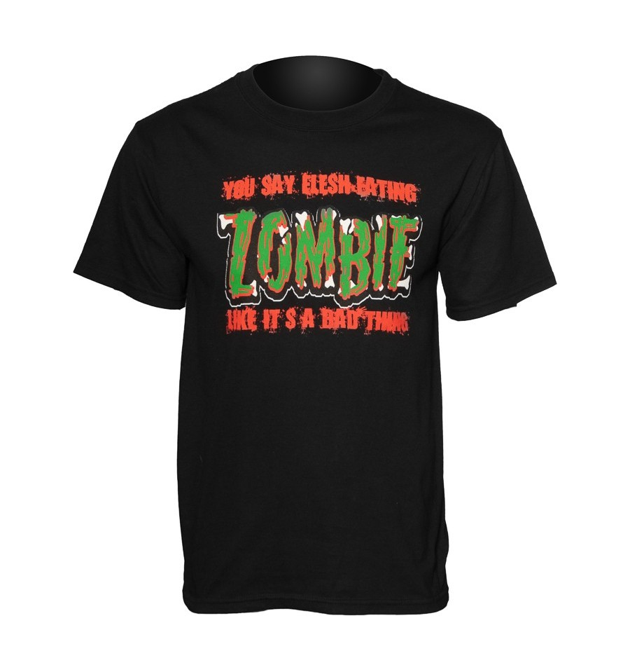 Zombie Bad Thing men's t-shirt by Flex Future