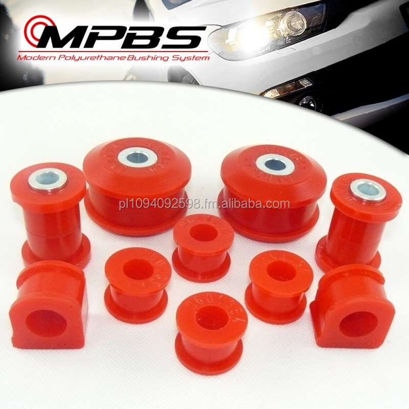Polyurethane Polybushings Urethanes bushings bushes wishbone front suspension bush kit set audi volkswagen seat skoda golf