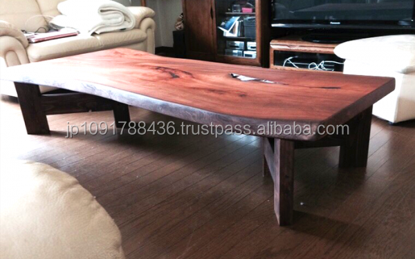 Japanese High quality and Hinoki cypress wood table at reasonable prices , OEM available