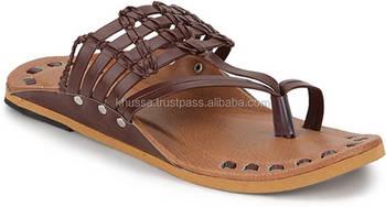 b3984c5b9 Rajasthani Style Handmade Mojari For Men men leather slippers sandals