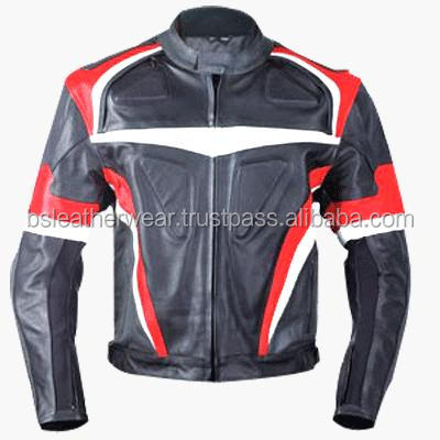 Mens 100% polyesterwinter linning jacket of full zip up clothing / motorcycle jacket