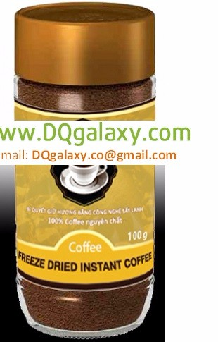 Freeze Instant Coffee - 100% Robusta