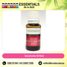 Essential Oil Blend to Increase Concentration and Focus Available in Small Bottles