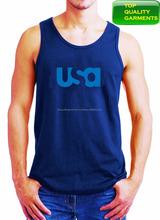 a6d174bc0c Add to Favorites · Blue Mens Boys Tank Top Plain Sando Workout Slim Fit Cotton  Sleeveless Logo Print High Quality ...