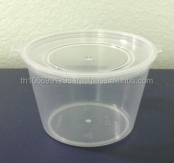 Pp Plastic Cups With Lidspp4 Ouncesattached To The Liddiameter 7