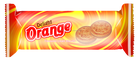 Orange douce crème biscuits
