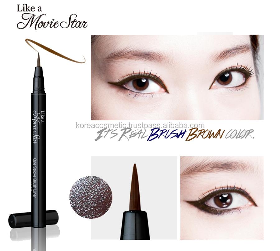 karadium]one Stroke Pen/ Brush Liner/ Korea Cosmetic