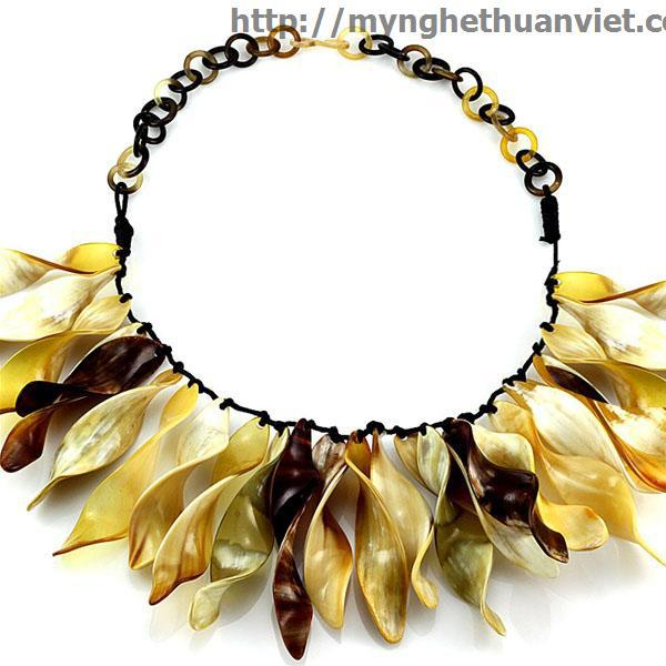 Horn Necklace Chain Material 100% Natural Water Buffalo Horn