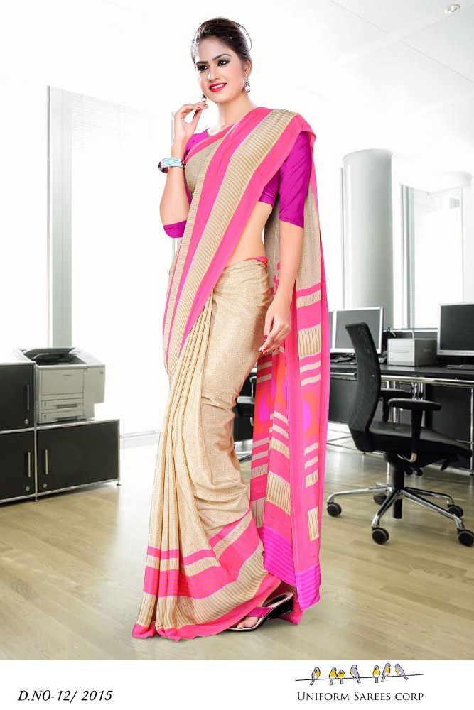 Hotel Uniform Sarees D. No. 12/2015