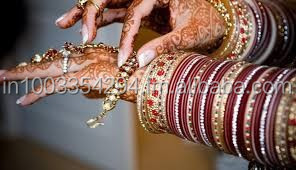 BRIDAL CHURA AND INDIAN BANGLE SET