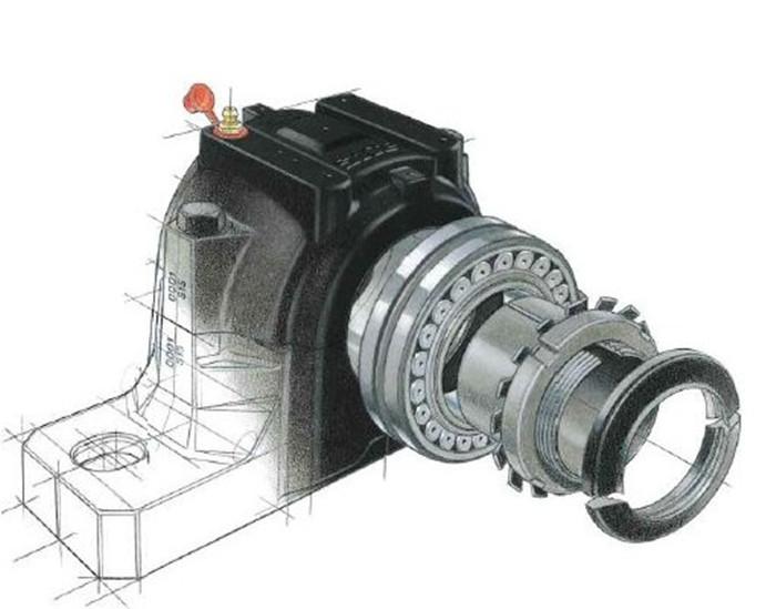42 0046 plummer block bearing house base oil sn500 sn 518 for House bearing