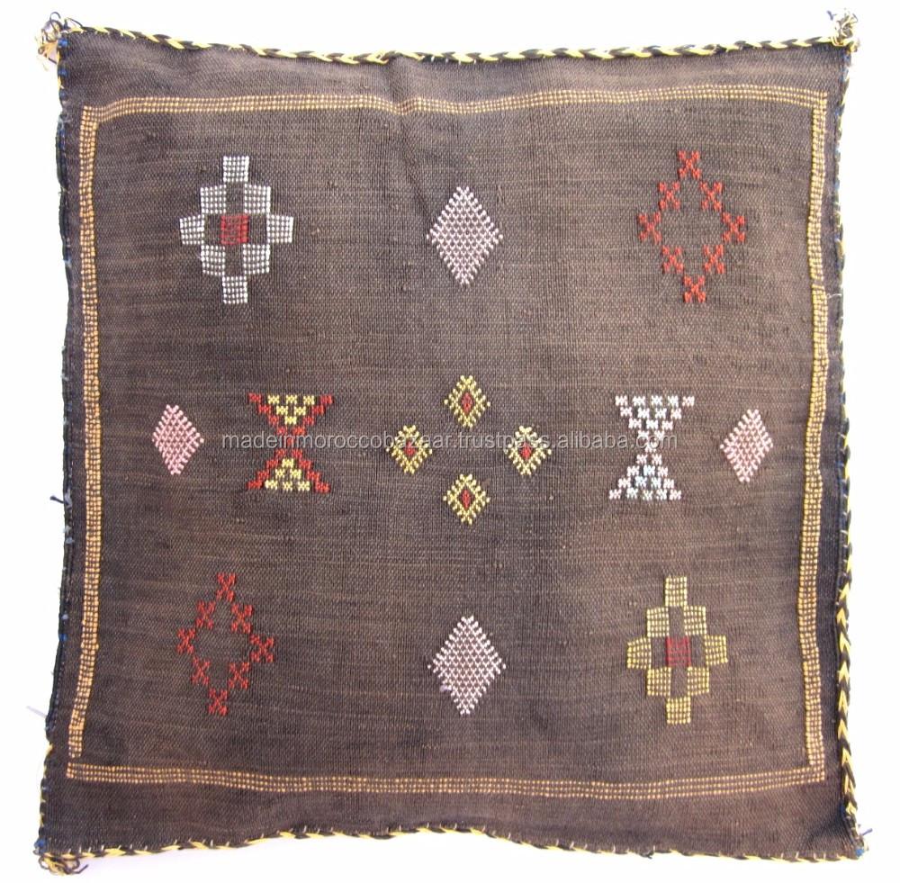 excellent moroccan handwoven sabra silk pillows  buy decorative  - excellent moroccan handwoven sabra silk pillows