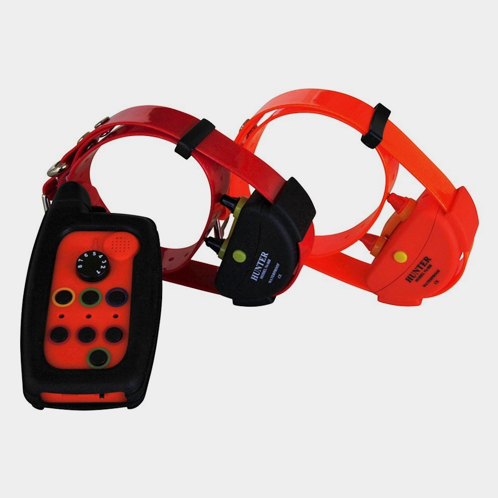 WATERPROOF REMOTE DOG TRAINER DOG COLLAR FOR HUNTING RANGE UP TO 2,000 METER