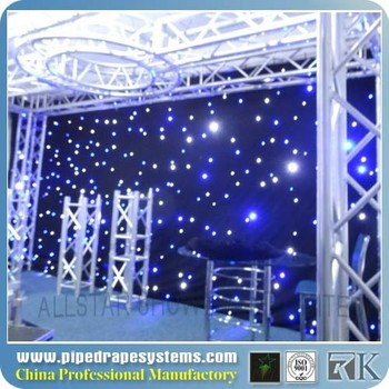 China Wholesale Led Fiber Optic Chandeliers For Concernt/party ...