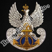 Uniform Accessories Bullion Wire Blazer Hands Embroidery Badges