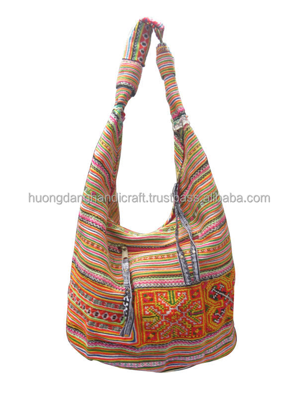 Vietnamese Traditional Bags,Brocade Bags From Ethnic Cloth