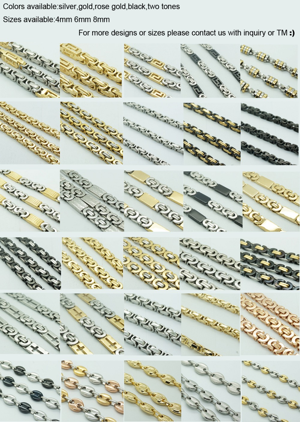 steel new men chain pin plated for dubai necklace stainless neck gold cheap long filled jewellery design jewelry