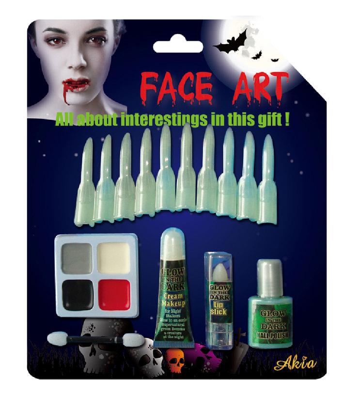 Halloween Clown Face Paint Kit Party Halloween Makeup Kid Makeup ...